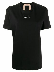 Nº21 logo print short-sleeved T-shirt - Black