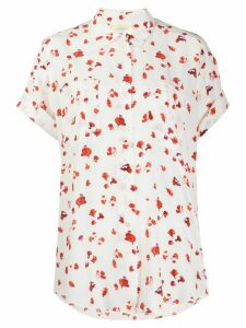 Paul Smith silk floral short-sleeve shirt - White