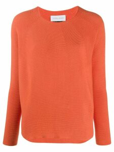 Christian Wijnants Kain crew neck jumper - ORANGE