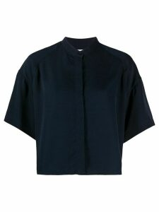 Filippa K Tammy cropped shirt - Blue