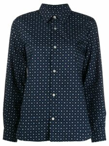 A.P.C. Mireille buttoned shirt - Blue