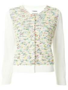 Coohem Summer Garden tweed cardigan - Yellow