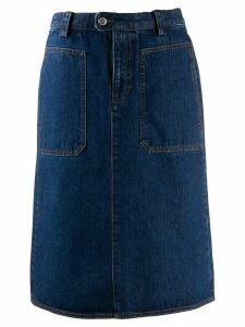 A.P.C. Jupe Nevada denim skirt - Blue