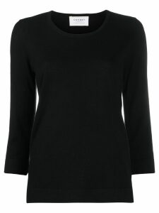 Snobby Sheep scoop neck knitted top - Black
