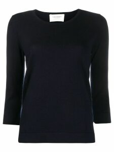 Snobby Sheep scoop neck knitted top - Blue
