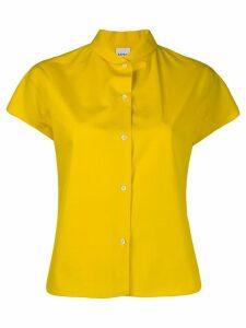 Aspesi short sleeve boxy fit shirt - Yellow