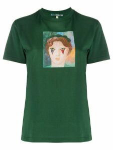 Alexa Chung Circus Girl cotton T-shirt - Green