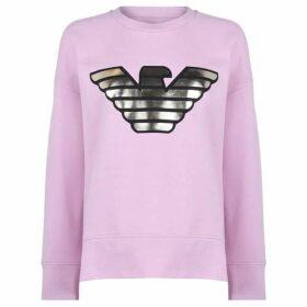 Emporio Armani Gold Eagle Sweater