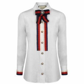 Gucci Cotton Frill Shirt