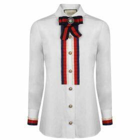 Gucci Cotton Frill Shirt