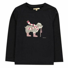 Barbour Lifestyle Long Sleeve Dog T Shirt