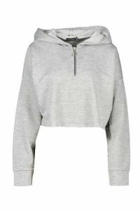 Womens Mix & Match Loopback Lounge Hoodie - grey - 16, Grey