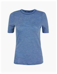 GOODMOVE Merinotec Base Layer Short Sleeve Top