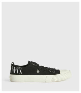 AllSaints Jazmin Stamp Low Top Trainers