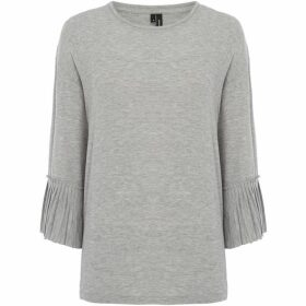 Vero Moda three quarter Sleeve Frill Cuff Jakuri Top