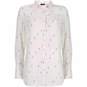 Ivory Lightning Bolt Shirt