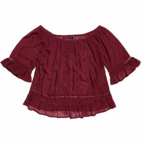 Superdry Folk Ladder Blouse