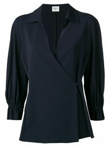 Giorgio Armani Pre-Owned 2000's envelope blouse - Black