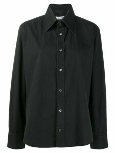 Dolce & Gabbana Pre-Owned 1990's placket detail shirt - Black
