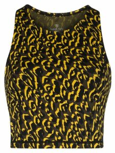 Sweaty Betty Flatter Me gym cropped vest - Black
