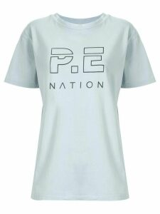 P.E Nation Heads Up relaxed fit T-shirt - Blue
