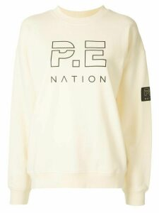 P.E Nation Heads Up long sleeve sweater - Yellow