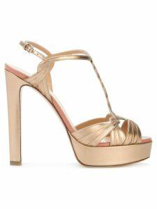 Francesco Russo platform sandals - PINK