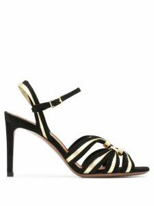 L'Autre Chose multi-strap sandals - Black