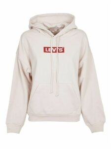 Levis Pink Hoodie With Logo