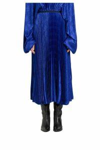 Federica Tosi Lon Skirt In Pleated Jacquard