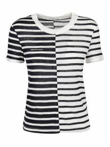 Alexander Wang T-shirt Contrast Stripe