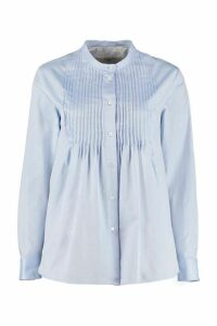 Weekend Max Mara Teatino Pleated Cotton Shirt