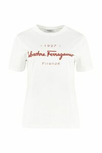 Salvatore Ferragamo Stretch Cotton T-shirt