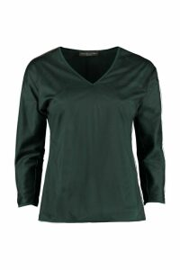 Fabiana Filippi Rhinestones Long-sleeve Top