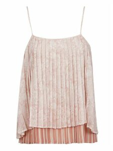 SEMICOUTURE Pleated Layered Top