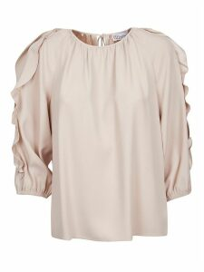 RED Valentino Ruffled Sleeve Top