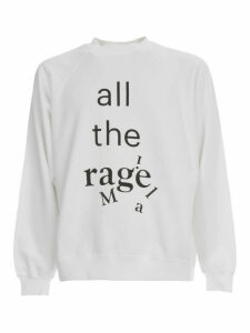 Maison Margiela Sweatshirt Over Cotton W/written