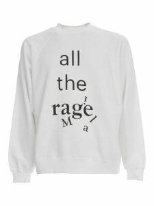 Maison Margiela Sweatshirt Over Cotton W/written