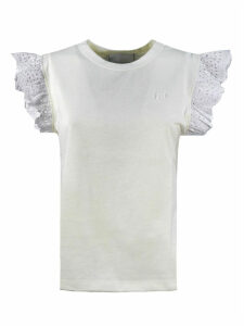 Philosophy di Lorenzo Serafini Sleeveless White Cotton T-shirt