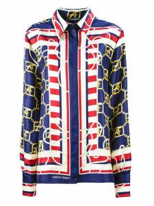 Alberta Ferretti Multicoloured Silk Shirt