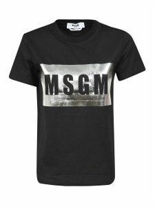 MSGM Tape Logo T-shirt
