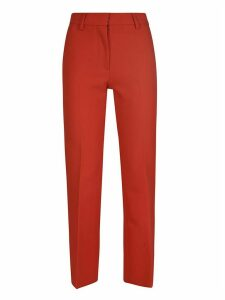 MSGM Slim-fit Cropped Trousers