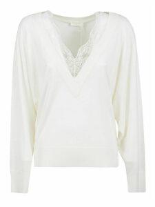 Chloé V-neck Laced Pullover
