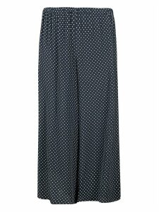 Theory Dotted Print Skirt