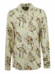 Monkey Printed Shirt