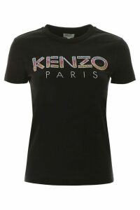 Kenzo T-shirt With Sequined Logo