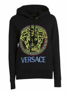 Versace Medusa And Logo Hoodie