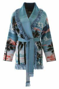 Alanui Silk And Wool Cardigan