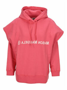 Mm6 Double Sleeve Logo Hoodie