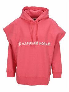 Mm6 Double Sleeve Logo Hoodie